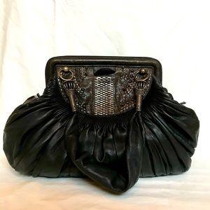 Christian Dior Lambskin Plisse Bag